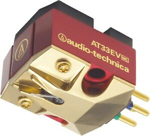 audio-technica AT33EV low-output moving-coil Phono Cartridge AUTHORIZED-DEALER