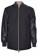 Topman Cotton Zip Bomber, Harrington Coats & Jackets for Men