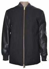 Topman Hip Length Leather Coats & Jackets for Men