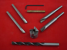 """Pen Making Barrell Trimmer/Pen Mill Set With 3/8"""" Brad Point Drill"""