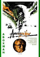 2016 APOCALYPSE NOW BRANDO SILK SCREEN MOVIE POSTER MONDO DAVIS #/79 COPPOLA S/N