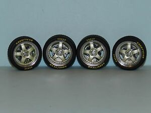 GMP 1/18 Street Fighter Wheel And Tyre Set Great for diorama or rebuilds