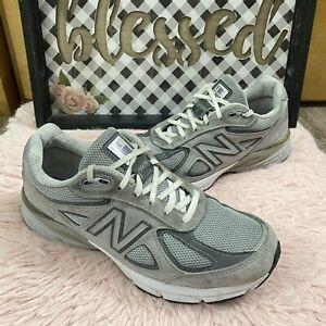 New Balance 990v4 Gray mens sz 8 D training athletic shoes