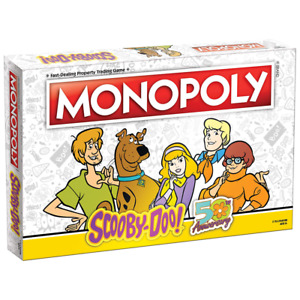 USAOPOLY: Monopoly - Scooby-Doo! Board Game, Collectible Monopoly, Free Shipping