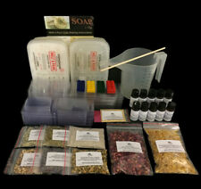Massive Soap Making Kit for Beginners inc Colour, Mica, Molds & Botanicals