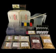 Massive Soap Making Kit for Beginners inc Colour, Mica, Molds & Botanicals