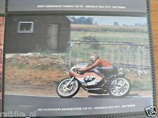 S0330-PHOTO-JOS SCHURGERS BRIDGESTONE 125 CC HENGELO GLD 1973 NO 22 HEUGA