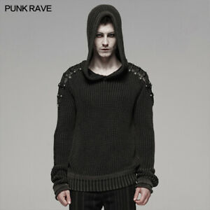 Punk Rave Hooded Steampunk Pullover