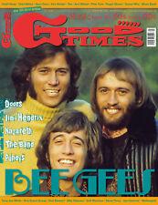 GoodTimes 5-2018 Bee Gees, Doors, Jimi Hendrix, Nazareth, The Band, Puhdys, Yes