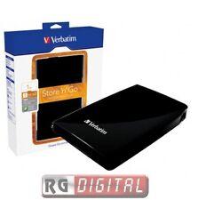 "HARD DISK ESTERNO 2,5"" 1TB VERBATIM USB 2.0 3.0 AUTOALIMENTATO HD HDD cod 53023"