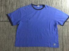 Polo Ralph Lauren Sleepwear Men's Medium Shirt Short Sleeve Blue Cotton