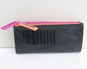 Genuine MAC Black & Neon Zip Makeup Bag / Purse Brand New & Sealed 🧡💗