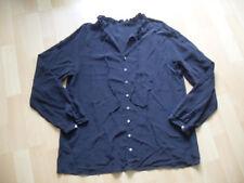 Esprit elegante Bluse / Tunika aus 100 % Seide Gr. XS / 34 schwarz * Neu *