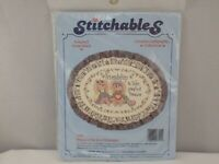 NEW STITCHABLES FRIENDSHIP IS A TREASURE COUNTED CROSS STITCH KIT #7791 SS02