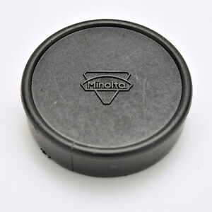 Rare Minolta SR Mount Push-On Rear Lens Cap MC MD Rokkor (#3534)
