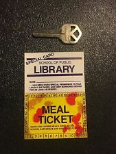 VTG Lot Gag Cards American Sex Express Library School Lunch BSA Discount Toe Jam