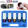 5Pcs Thin Wall Impact Sockets 1/2Inc Drive Wheel Protector Lug Nut Socket