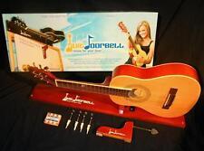 Guitdoorbell, Gitarre als Türglocke oder Reisegitarre, naturfarben