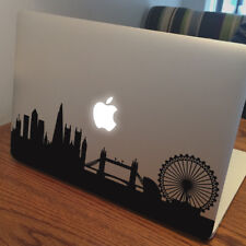 "LONDON SKYLINE Apple MacBook Decal Sticker fits 11"" 12"" 13"" 15"" and 17"" models"