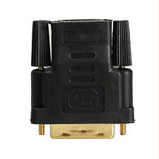 1pc (24+1) 25 Pin DVI-D Male To HDMI Female Adapter Connector Stylish ju