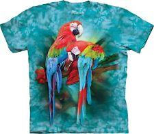 The Mountain Unisex Adult Macaw Mates Birds & Bugs T Shirt Large 1040912