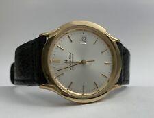 Men's Hamilton Masterpiece Quartz Wristwatch ETA Swiss 955414 Movement New Batt
