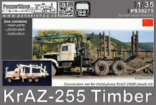 KraZ-255 Timber conversion resin set 1/35 PanzerShop HObbyboss
