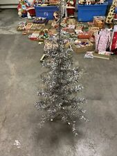 Vintage Aluminum Christmas Tree Table Top Size