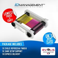 Evolis R5F002EAA Colour Ribbon for Zenius Printer • 200 Prints • Low Prices