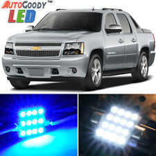 14 x Premium Blue LED Lights Interior Package Chevy Avalanche 2007-2013 + Tool