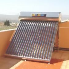 200 Lt Compact Solar Water Heater, Water Hot Water Heating, Evacuated Tube Panel
