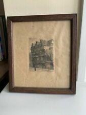 Architecture Original Miniature Art Prints