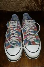 ALL STAR CONVERSE WEDGED HEELS SIZE 8 LADY'S PUMP