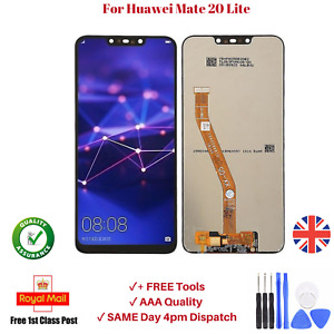 Touch Screen For Huawei Mate 20 Lite OEM LCD Black Display Digitizer Replacement