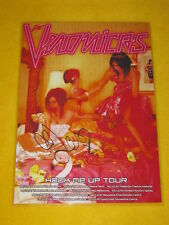 The Veronicas - 2007  Hook Me Up  Australian Tour -  SIGNED AUTOGRAPHED  Poster