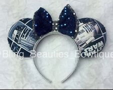 R2-D2 Star Wars Mickey Minnie Mouse Ears Headband Disneyland World