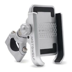 US Aluminum Motorcycle Bike Bicycle Holder GPS Mount Handlebar For Cell Phone