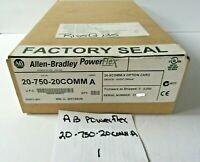 Allen Bradley Power Flex 20-750-20COMM A NEW SEALED - MET46