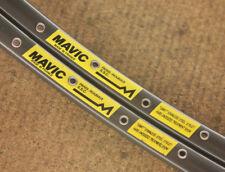 Vintage set (2) Mavic SSC Paris Roubaix 36 hole tubular sew up rims rimset 700c