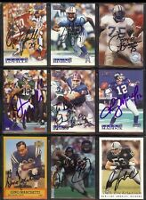 TRACE ARMSTRONG Chicago Bears 1994 Playoff SIGNED / AUTOGRAPH Football Card