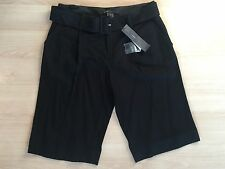 NWT Marc Jacobs Black Women's Dressy Shorts with Belt-Size 4-$238 Retail
