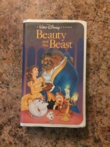 A RARE Beauty and the Beast BLACK Diamond Masterpiece Collection VHS, 1992
