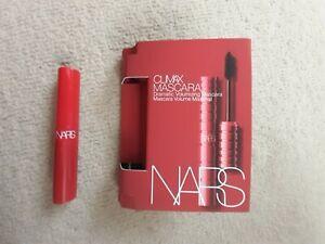 NARS Climax Mascara Dramatic Volumising Explicit Black Travel Size 2ml/1.8g NEW