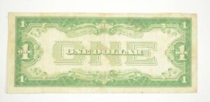 TOUGH 1928-A $1 Funny Back Silver Certificate Monopoly Money Collectible *572