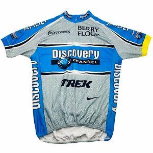 George Hincapie XL Jersey Nike Tour De France 2005 Yellow Stripe Trek Discovery