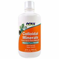 Now Foods, Colloidal Minerals, 32 fl oz (946 ml) Fulvic Acid