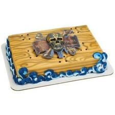 PIRATES OF THE CARIBBEAN MARKED BY A CURSE BIRTHDAY PARTY CAKE DECORATION  SET