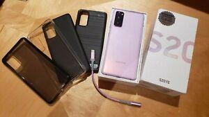 Samsung Galaxy S20 FE G780F 256GB Lavender Int'l Unlocked Dual SIM + $130 EXTRAS
