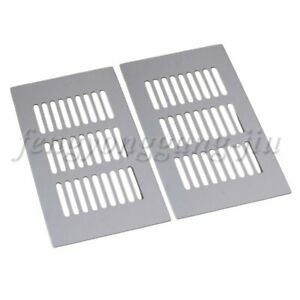 2pcs 150mm Aluminum Air Vent  Grille Ventilation Cover for Cabinet Wardrobe