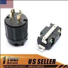Plug Connector NEMA L14-30R L14-30P 30A 125/250V for Generator Cord Assembly 584